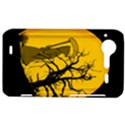 Death Haloween Background Card HTC Incredible S Hardshell Case  View1