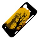 Death Haloween Background Card HTC Incredible S Hardshell Case  View4