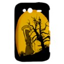 Death Haloween Background Card HTC Wildfire S A510e Hardshell Case View2