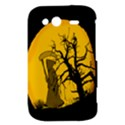 Death Haloween Background Card HTC Wildfire S A510e Hardshell Case View3