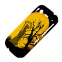 Death Haloween Background Card HTC Desire S Hardshell Case View4