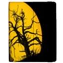 Death Haloween Background Card Apple iPad Mini Flip Case View2