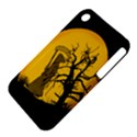 Death Haloween Background Card Apple iPhone 3G/3GS Hardshell Case (PC+Silicone) View4