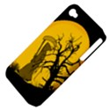 Death Haloween Background Card Apple iPhone 4/4S Hardshell Case (PC+Silicone) View4