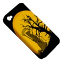 Death Haloween Background Card Apple iPhone 4/4S Hardshell Case (PC+Silicone) View5