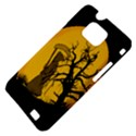 Death Haloween Background Card Samsung Galaxy S II i9100 Hardshell Case (PC+Silicone) View4