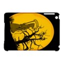 Death Haloween Background Card Apple iPad Mini Hardshell Case (Compatible with Smart Cover) View1