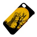 Death Haloween Background Card Apple iPhone 4/4S Hardshell Case with Stand View4