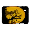 Death Haloween Background Card Samsung Galaxy Tab 2 (7 ) P3100 Hardshell Case  View1