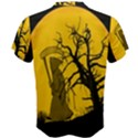 Death Haloween Background Card Men s Cotton Tee View2