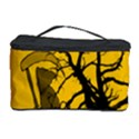 Death Haloween Background Card Cosmetic Storage Case View1