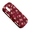 Digital Raspberry Pink Colorful  HTC Amaze 4G Hardshell Case  View5