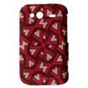 Digital Raspberry Pink Colorful  HTC Wildfire S A510e Hardshell Case View3