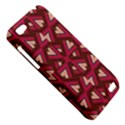 Digital Raspberry Pink Colorful  HTC One V Hardshell Case View5