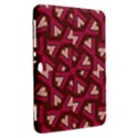 Digital Raspberry Pink Colorful  Samsung Galaxy Tab 8.9  P7300 Hardshell Case  View2