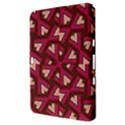 Digital Raspberry Pink Colorful  Samsung Galaxy Tab 8.9  P7300 Hardshell Case  View3
