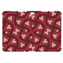 Digital Raspberry Pink Colorful  Samsung Galaxy Tab 10.1  P7500 Hardshell Case  View1