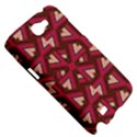 Digital Raspberry Pink Colorful  Samsung Galaxy Note 2 Hardshell Case View5