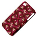 Digital Raspberry Pink Colorful  Apple iPhone 4/4S Hardshell Case (PC+Silicone) View4