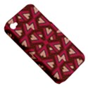 Digital Raspberry Pink Colorful  Apple iPhone 4/4S Hardshell Case (PC+Silicone) View5