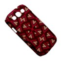 Digital Raspberry Pink Colorful  Samsung Galaxy S III Classic Hardshell Case (PC+Silicone) View5