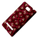 Digital Raspberry Pink Colorful  HTC 8S Hardshell Case View4