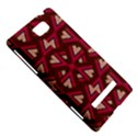 Digital Raspberry Pink Colorful  HTC 8S Hardshell Case View5