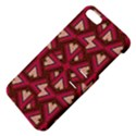 Digital Raspberry Pink Colorful  Apple iPhone 5 Hardshell Case with Stand View4