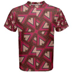 Digital Raspberry Pink Colorful  Men s Cotton Tee