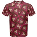 Digital Raspberry Pink Colorful  Men s Cotton Tee View1
