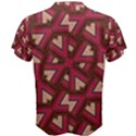 Digital Raspberry Pink Colorful  Men s Cotton Tee View2