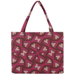 Digital Raspberry Pink Colorful  Mini Tote Bag
