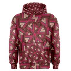 Digital Raspberry Pink Colorful  Men s Pullover Hoodie