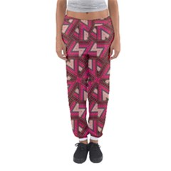 Digital Raspberry Pink Colorful  Women s Jogger Sweatpants