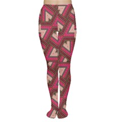 Digital Raspberry Pink Colorful  Women s Tights