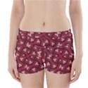 Digital Raspberry Pink Colorful  Boyleg Bikini Wrap Bottoms View1
