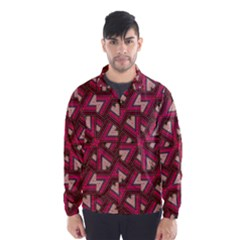 Digital Raspberry Pink Colorful  Wind Breaker (Men)