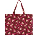 Digital Raspberry Pink Colorful  Large Tote Bag View1