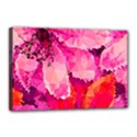 Geometric Magenta Garden Canvas 18  x 12  View1