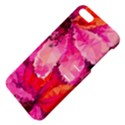 Geometric Magenta Garden Apple iPhone 5 Hardshell Case with Stand View4