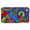 Pop Art Paisley Flowers Ornaments Multicolored Apple iPhone 3G/3GS Hardshell Case View1