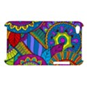 Pop Art Paisley Flowers Ornaments Multicolored Apple iPod Touch 4 View1