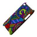 Pop Art Paisley Flowers Ornaments Multicolored Apple iPod Touch 4 View4