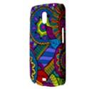 Pop Art Paisley Flowers Ornaments Multicolored Samsung Galaxy Nexus i9250 Hardshell Case  View3