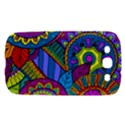 Pop Art Paisley Flowers Ornaments Multicolored Samsung Galaxy S III Hardshell Case  View1