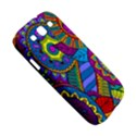 Pop Art Paisley Flowers Ornaments Multicolored Samsung Galaxy S III Hardshell Case  View5