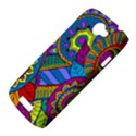Pop Art Paisley Flowers Ornaments Multicolored HTC One S Hardshell Case  View4