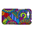 Pop Art Paisley Flowers Ornaments Multicolored HTC Rhyme View1