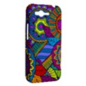 Pop Art Paisley Flowers Ornaments Multicolored HTC Rhyme View2