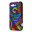 Pop Art Paisley Flowers Ornaments Multicolored HTC Rhyme View3